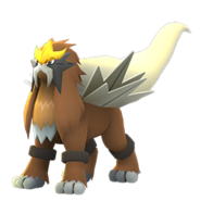 Entei GO Shiny