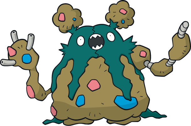 Trubbish Is Known As The Trash Bag Pokemon For Obvious Reasons And It Along With Vanniluxe Were D On Because Designs Boring Or Unoriginal