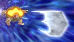 Team Rocket Golem Rock Blast