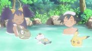 Iris and Ash hot springs