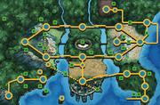 블랙2 화이트2 지도