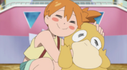 Misty and Psyduck