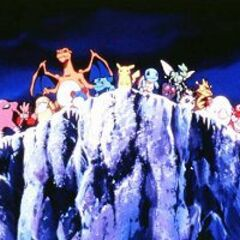 Все покемоны из Канто встали на утёс и устремили свой взор на горизонт