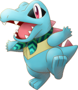 158Totodile Pokémon Super Mystery Dungeon