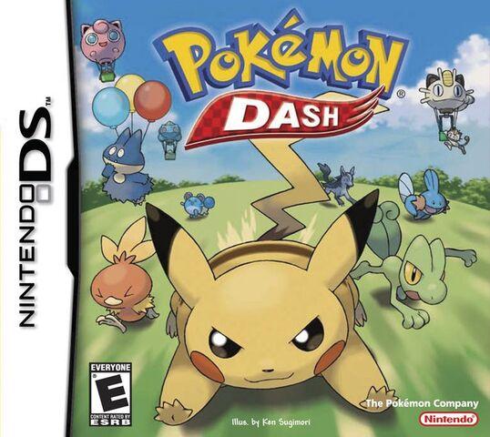 File:Pokémon Dash Cover.jpg