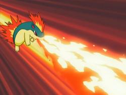 Ryan Quilava Flamethrower