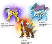 Legendary Beasts Generation 2