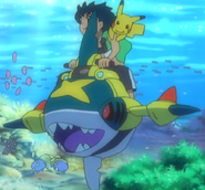 Poké Ride Sharpedo