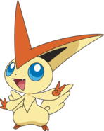 494Victini BW anime