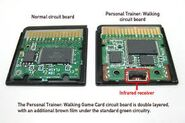Pokewalker cartridge innards