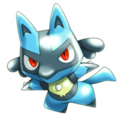 448Lucario Pokemon Rumble U
