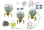 Dewpider concept art