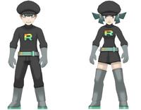 Reclutes del Team Rainbow Rocket