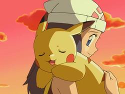 Dawn & Pikachu
