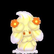869Alcremie Lemon Cream Flower Sweet Pokémon HOME