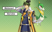 Pokemon Conquest -Motonari and Servine