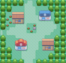 Ruby-Sapphire Oldale Town