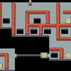 다이아몬드·펄, 플라티나에서의 내부 지하 1층