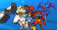 Ash Ketchum's Alola Pokemon