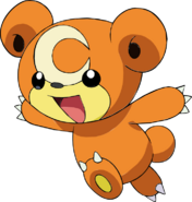 216Teddiursa OS anime 2