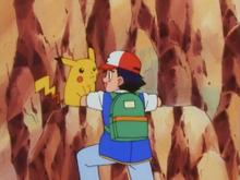 Ash's climbing skills