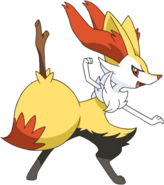 654Braixen XY anime 2