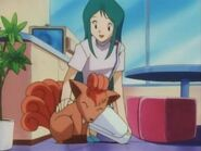 Suzy and vulpix