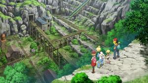 애니메이션에서의 끝의 동굴