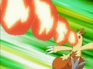 May Combusken Flamethrower