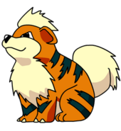 058Growlithe OS anime