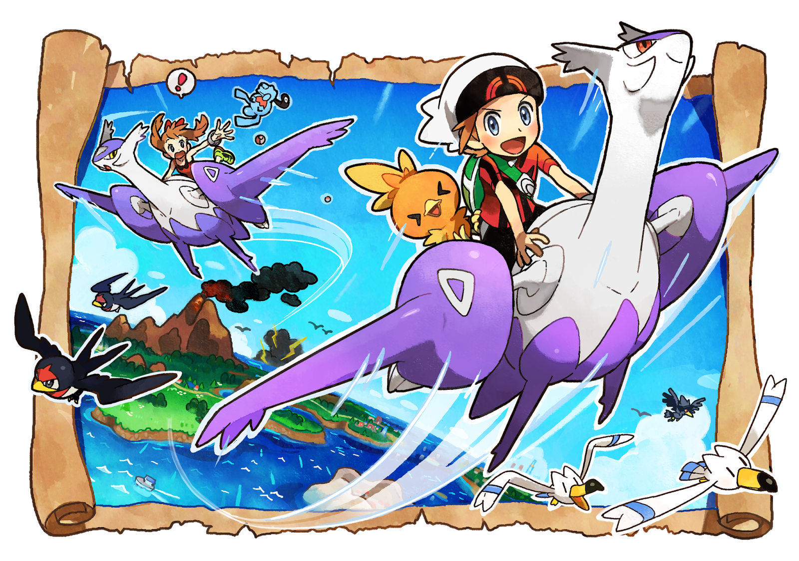 image - pokemon oras artwork | pokémon wiki | fandom powered by