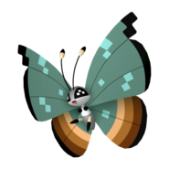 666Vivillon Jungle Pattern Pokémon HOME