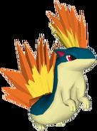 156Quilava Pokémon PokéPark