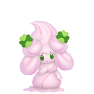 869Alcremie Ruby Cream Clover Sweet Pokémon HOME