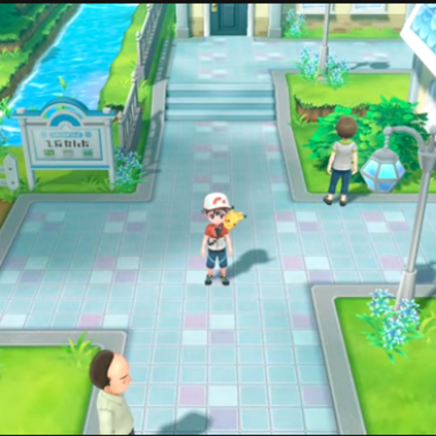 Церулин в Pokemon Let`s Go Pikachu\Eevee