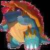 834Drednaw Gigantamax Pokémon HOME
