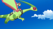 Ultra Guardian Mallow's Ride Flygon