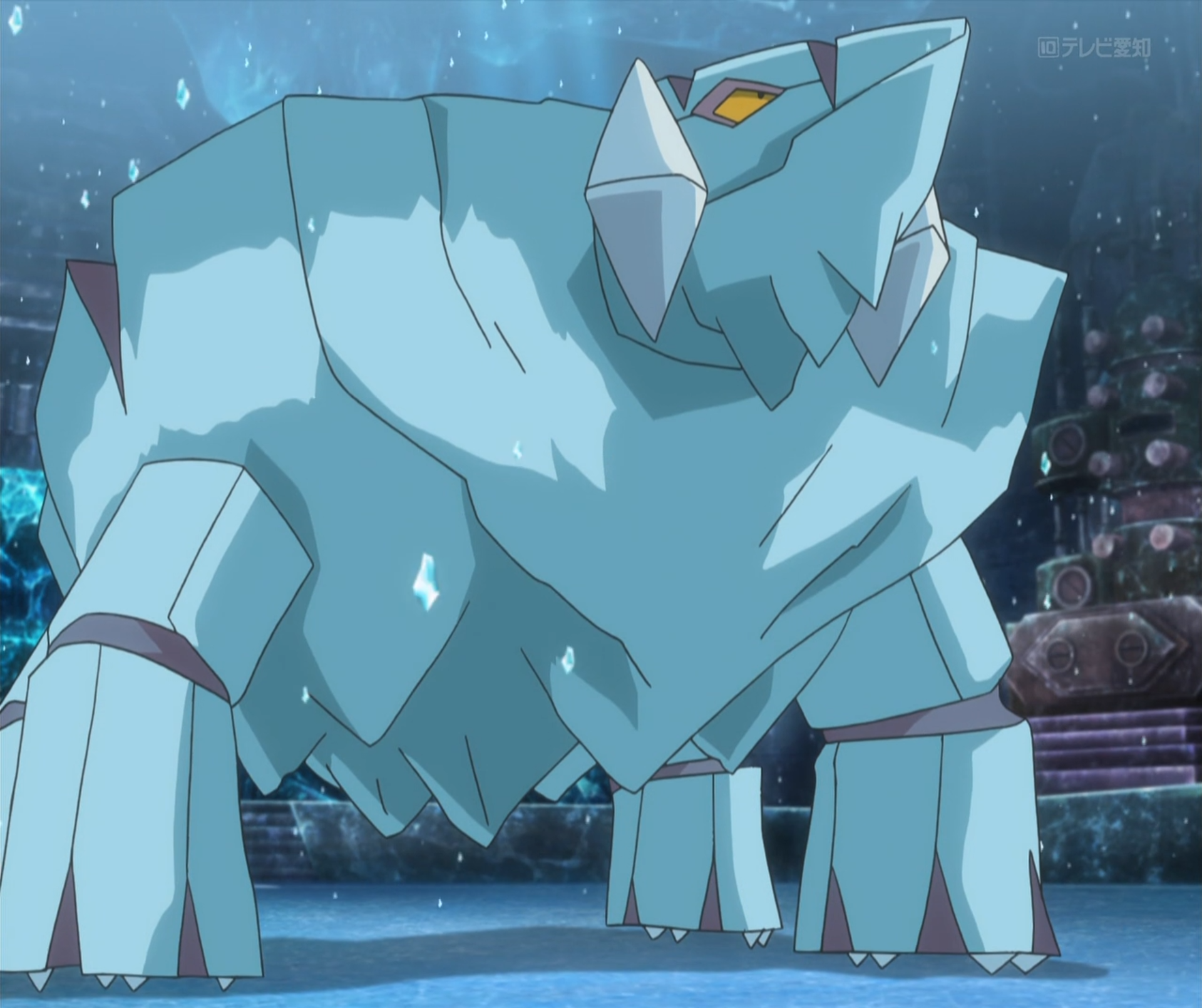 Wulfric S Avalugg Anime Pok 233 Mon Wiki Fandom Powered