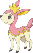 585Deerling-Spring BW anime