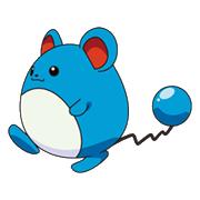 183Marill OS anime 3