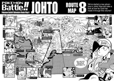 Adventures volume 8 map