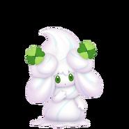 869Alcremie Salted Cream Clover Sweet Pokémon HOME