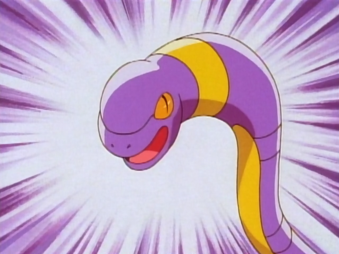 Image result for Ekans Pokemon  anime