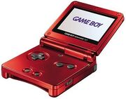 Gameboy SP roja