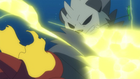 Pangoro Thunder Punch