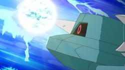 Poké Ride Metang Flash Cannon