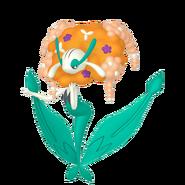 671Florges Orange Flower Pokémon HOME