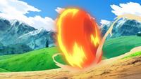 Ash Chimchar Flame Wheel