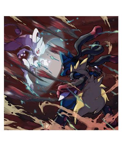 Mega Mewtwo Vs Lucario Pokemon X And Y