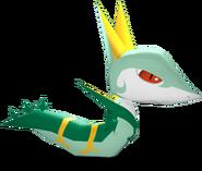 Serperior-PokémonRumbleBlast-Model